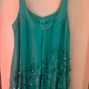 Bebe Sequin Bubble dress
